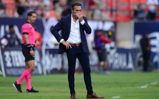Matosas fuera de San Luis - Gustavo Matosas como técnico de San Luis. Foto de Mexsport..