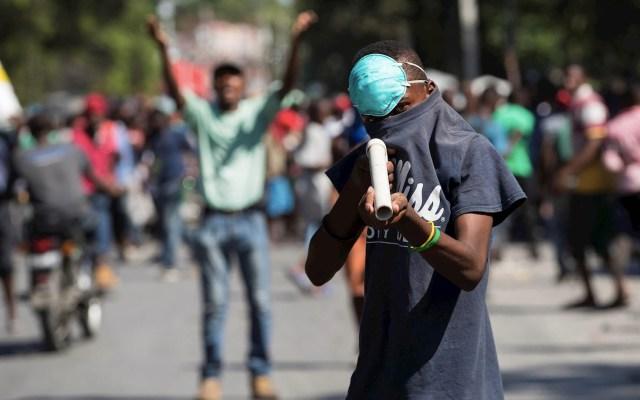 Protestas en Haití dejan al menos un muerto y un herido - Haití protestas crisis política