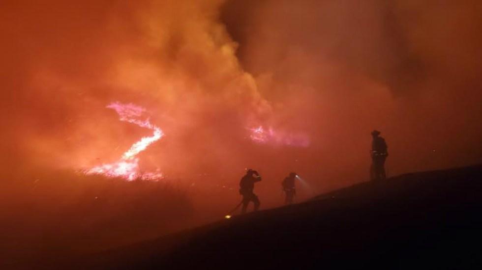 Tres muertos en incendios forestales en California - Foto de Moraga-Orinda Fire District