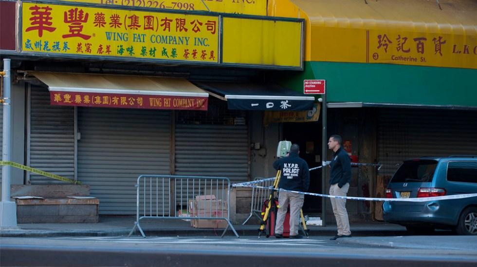 Un latino entre los indigentes asesinados en Nueva York - Foto de @Lloydphoto