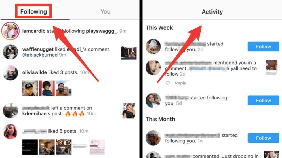 Instagram elimina pestaña 'Siguiendo' - Foto de Business Insider