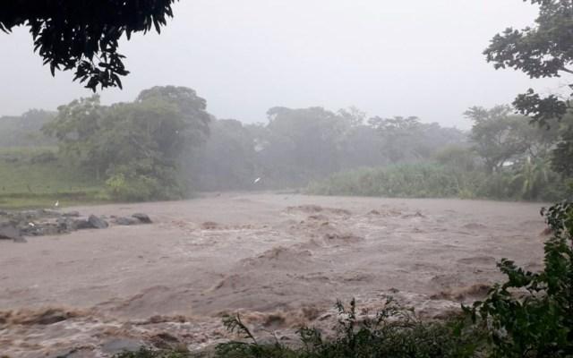 Lluvias dejan viviendas dañadas en municipios de Veracruz - Lluvias dejan viviendas dañadas en municipios de Veracruz