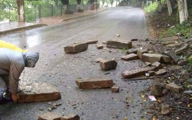Lluvias dejan localidades incomunicadas en San Luis Potosí - lluvias san luis potosi