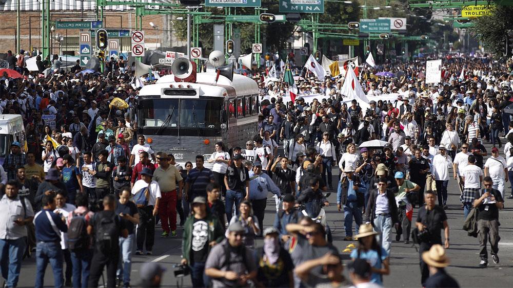 Las manifestaciones de este lunes en la Ciudad de México - manifestaciones movilizaciones