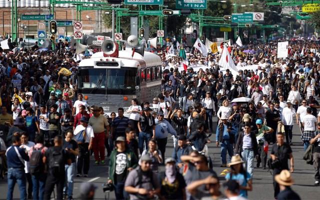 Prevén nueve movilizaciones este jueves en la Ciudad de México - manifestaciones movilizaciones