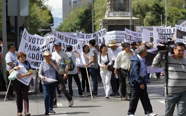 Las manifestaciones de este miércoles en la Ciudad de México - Manifestaciones