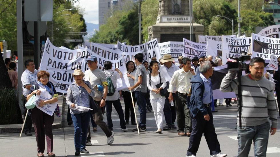 Las movilizaciones de este jueves 23 de julio en la Ciudad de México - Manifestaciones