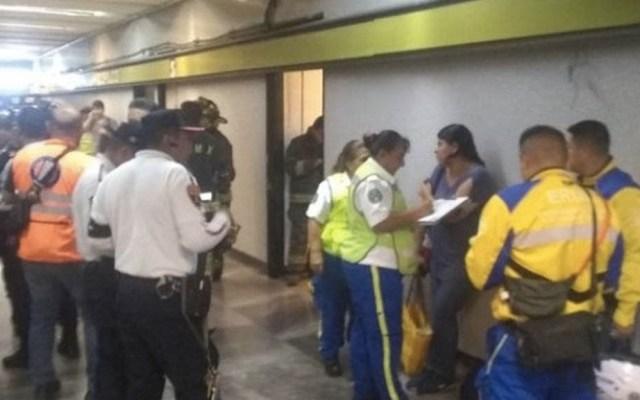 Muere hombre tras caer a las vías del Metro Copilco - Metro Copilco suicidio