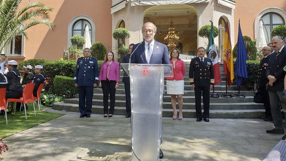 Embajador de España destaca relaciones trepidantes y profundas con México - Embajador español destaca relaciones trepidantes y profundas con México