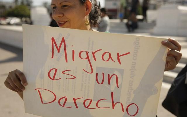 Suman 87 mil migrantes hondureños deportados en 2019 - Migrante hondureña. Foto de EFE