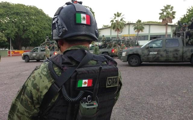 A un mes del operativo en Culiacán, persisten las dudas - Militares México fuerzas Sedena Soldados