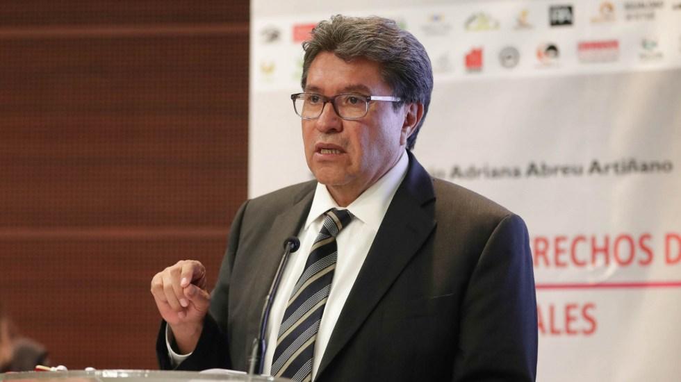IFT, COFECE y CRE serán más funcionales como un solo instituto, defiende Monreal - Ricardo Monreal. Foto de Senado