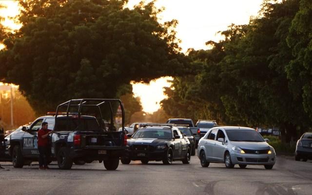 Pese a enfrentamiento en Culiacán la gente sigue teniendo confianza: AMLO - Movilización policiaca en Culiacán por balaceras. Foto de El Debate Sinaloa