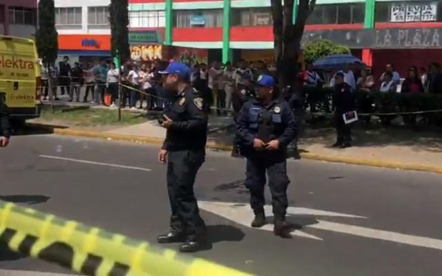 Policía abate a ladrón y lesiona a otro en Iztacalco - Movilización policiaca sobre Av Canal de Tezontle. Captura de pantalla / MrElDiablo8