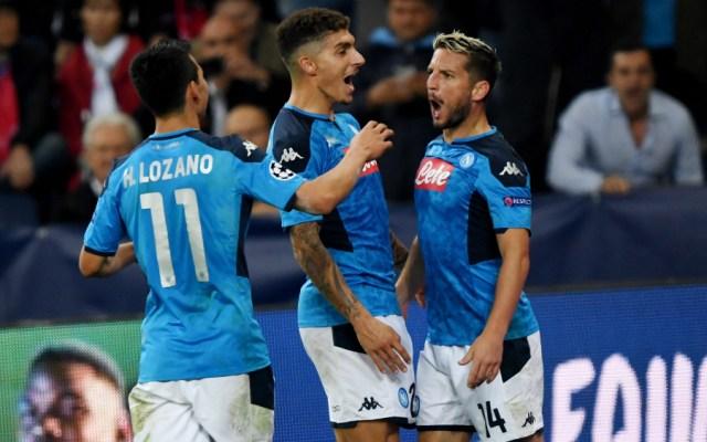 Napoli vence al Salzburgo en Champions; Lozano juega 65 minutos - Foto de EFE