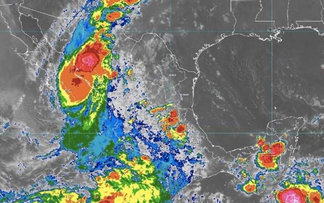 Tormenta tropical Narda toca tierra en Sinaloa - Narda tormenta tropical