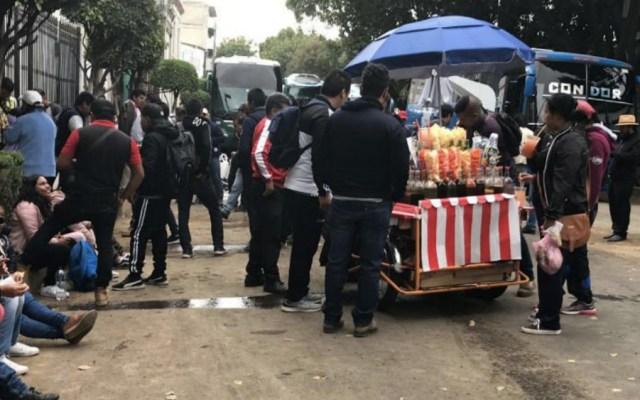 Segob y normalistas de Tenería acuerdan liberar a 92 personas retenidas - Foto de 24 horas