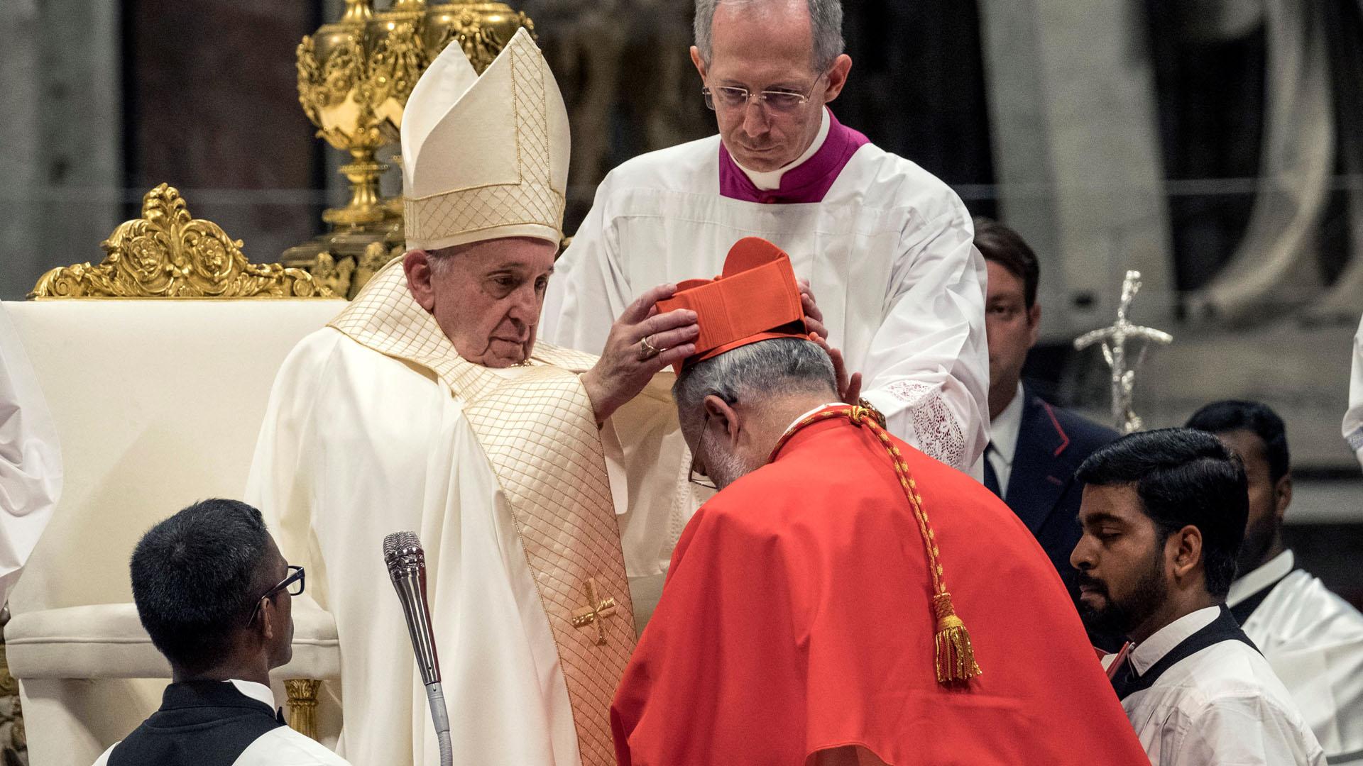 Nuevos cardenales de la Iglesia Católica. Foto de EFE