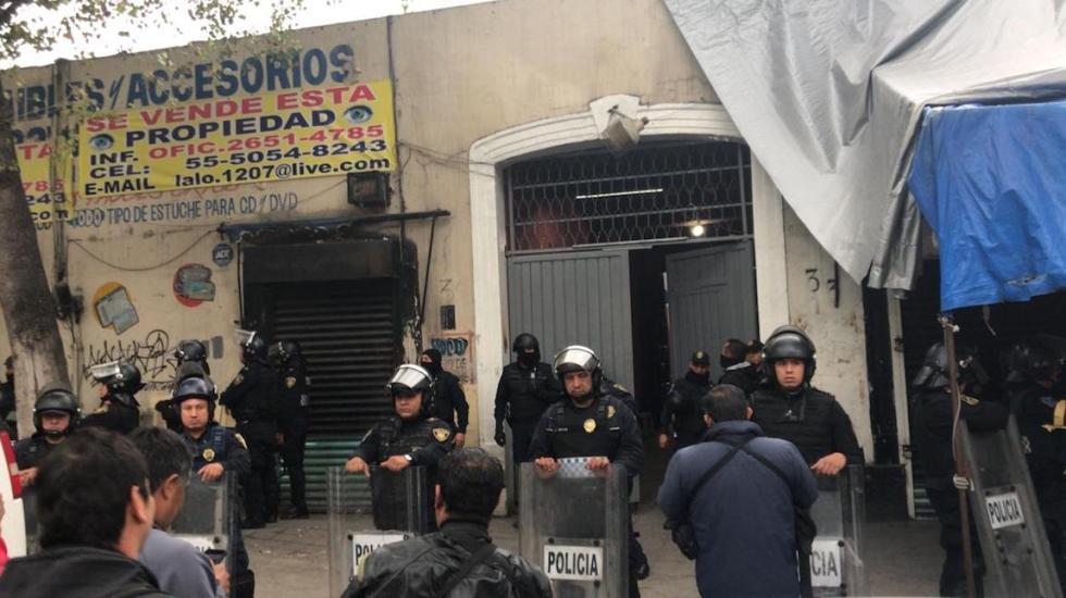 Lamenta Sheinbaum liberación de tres personas por operativo en Tepito - El Operativo en Tepito. Foto de Foro TV.