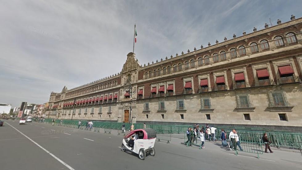 Trabajadores del Estado regresarán a oficinas hasta el 1 de octubre - Palacio Nacional. Foto de Google Maps