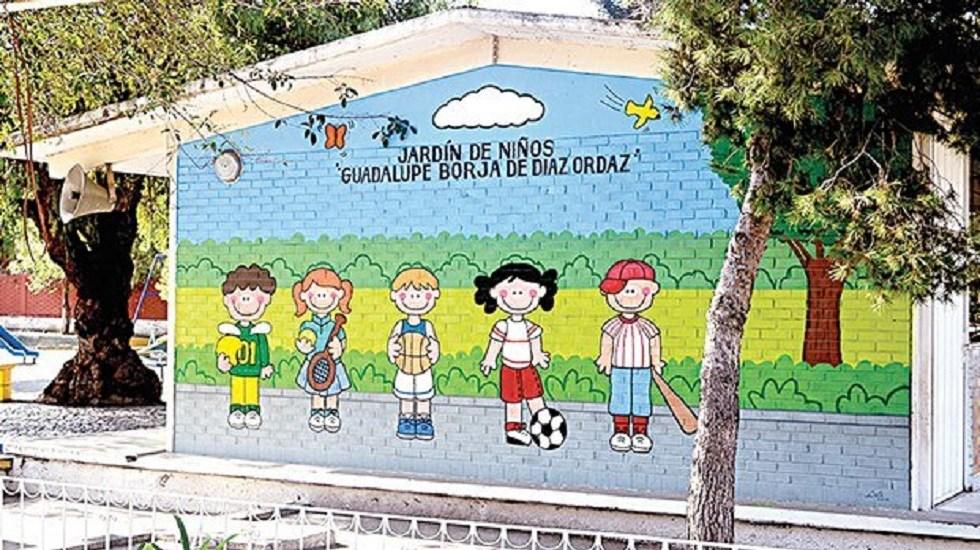 Investigan dos presuntos abusos sexuales en jardín de niños de Coahuila - Patio del kínder Guadalupe Borja. Foto de Zócalo Saltillo