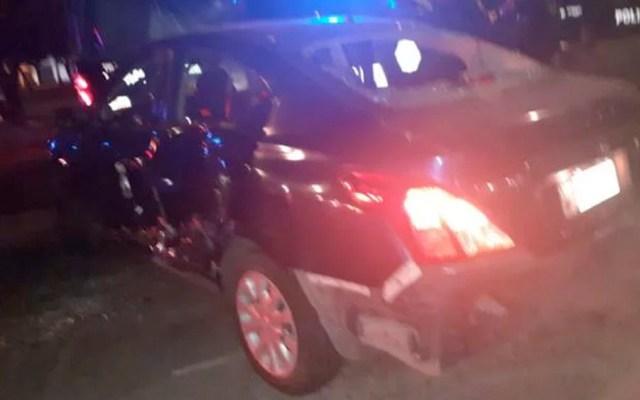 Persecución a automovilista deja tres lesionados en Venustiano Carranza - persecución venustiano carranza