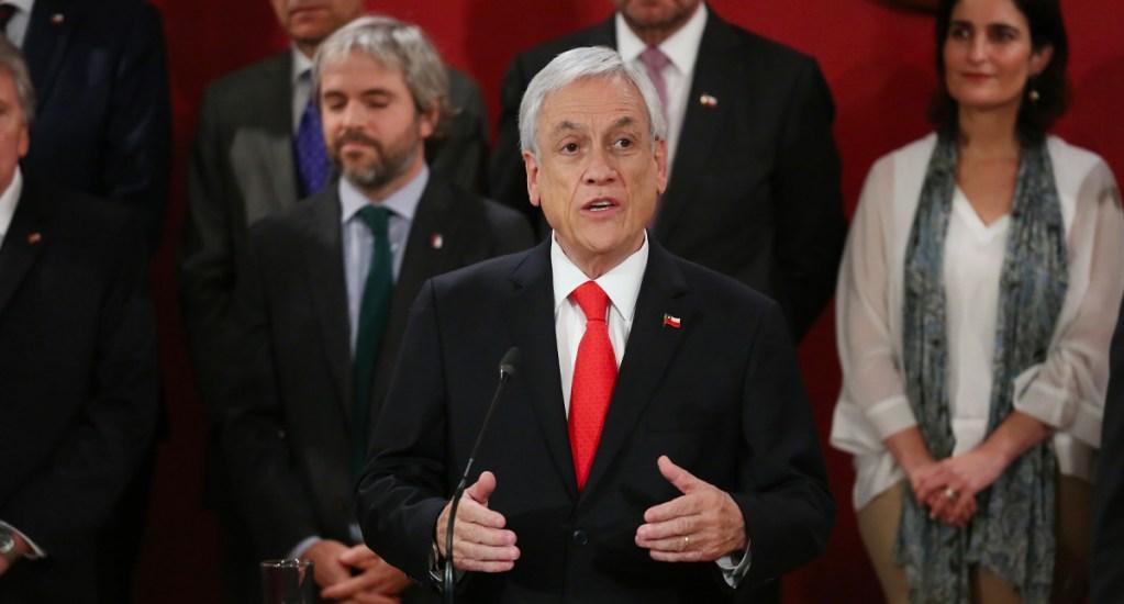 Presidente de Chile cambia a ocho ministros para enfrentar crisis política y social - Sebastian Piñera