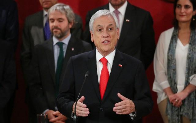 """Piñera considera """"inadmisible"""" la acusación constitucional en su contra - Sebastian Piñera"""