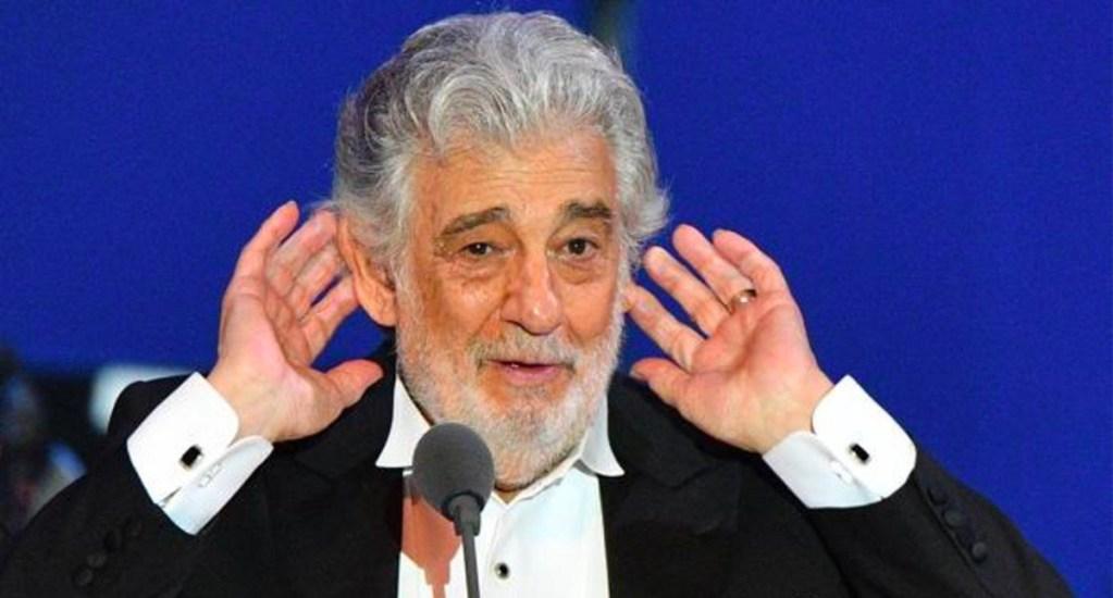 """Plácido Domingo afirma que nunca se ha comportado de """"modo acosador"""" - Plácido Domingo"""