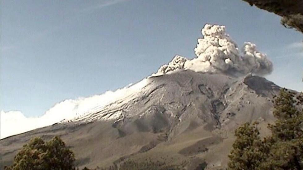 Popocatépetl emite 174 exhalaciones en las últimas 24 horas - Popocatépetl