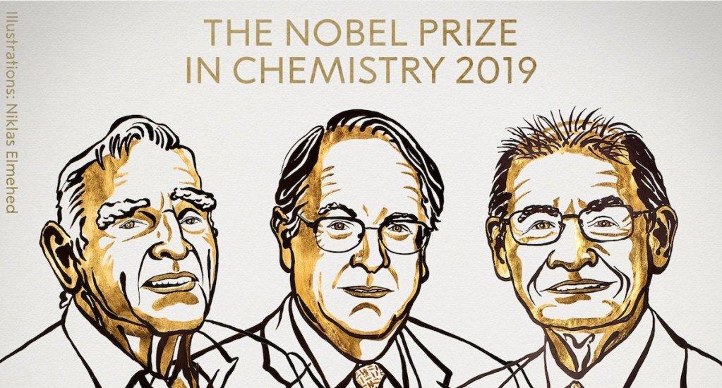 Nobel de Química a desarrolladores de las baterías de iones de litio - Foto de @NobelPrize