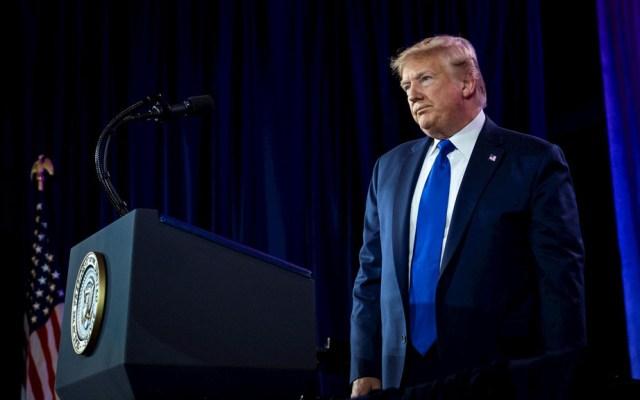 Donald Trump advierte 'poderosas sanciones' contra Turquía - Presidente Donald Trump. Foto de EFE