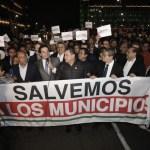 Confirma Presidencia uso de gas contra alcaldes en Palacio Nacional