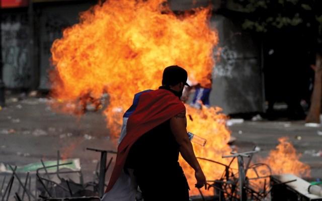 Denuncian violaciones a derechos humanos durante protestas en Chile - Foto de EFE