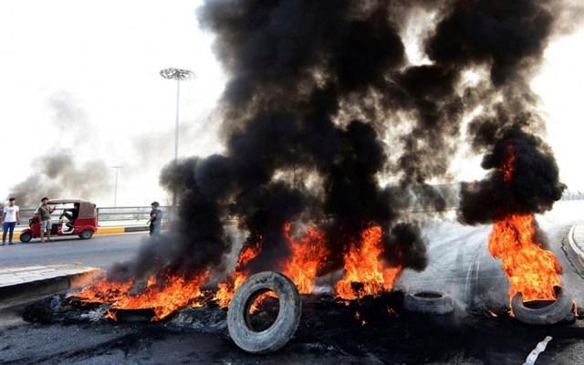 Suman 27 muertos en tres días de protestas en Irak - protestas irak