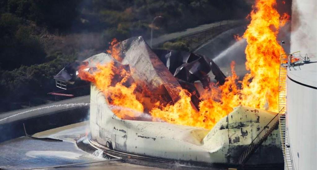 #Video Incendio en refinería de San Francisco - Incendio en refinería de San Francisco