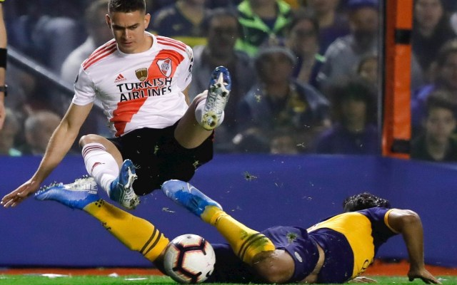Presidente de River acusa que Boca Juniors tuvo 'poder desmedido' gracias a Macri - Foto de EFE/Juan Ignacio Roncoroni