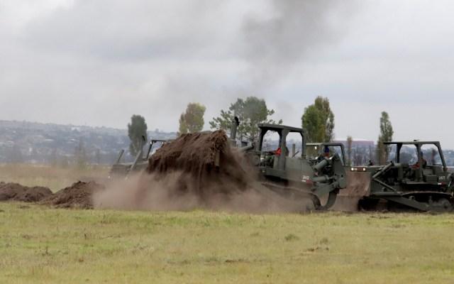 Falta modificar uso de suelo para zonas aledañas a Santa Lucía: Sedatu - Construcción del Aeropuerto de Santa Lucía