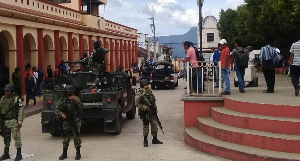 Intentan retener a alcaldesa de Simojovel, Chiapas - Simojovel municipio seguridad