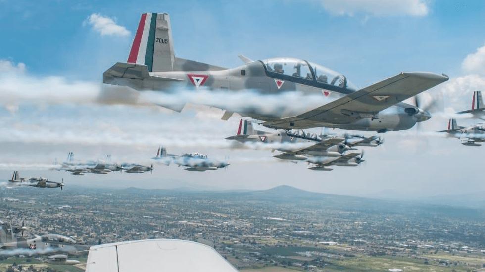 Piloto de la Fuerza Aérea Mexicana muere en accidente en Durango - Imagen ilustrativa. Foto de Sedena