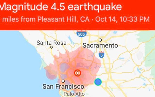 Sismo de magnitud 4.5 sacude California - sismo california