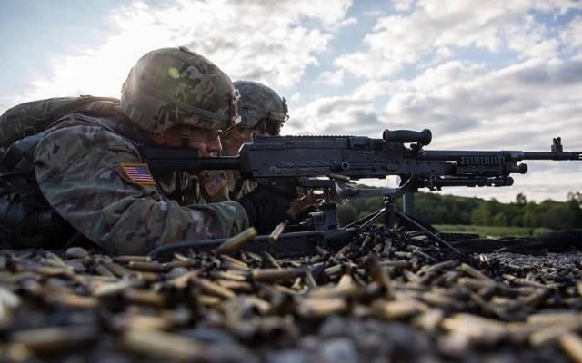EE.UU. enviará a miles de soldados a Oriente Medio tras muerte de Soleimani - Soldados del Ejército de EE.UU. Foto de @usarmy