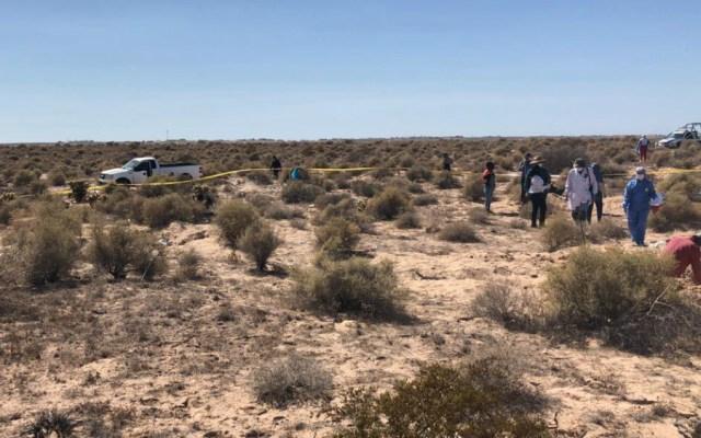 Localizan 13 cuerpos en predio de Sonora - Foto de Fiscalía de Sonora