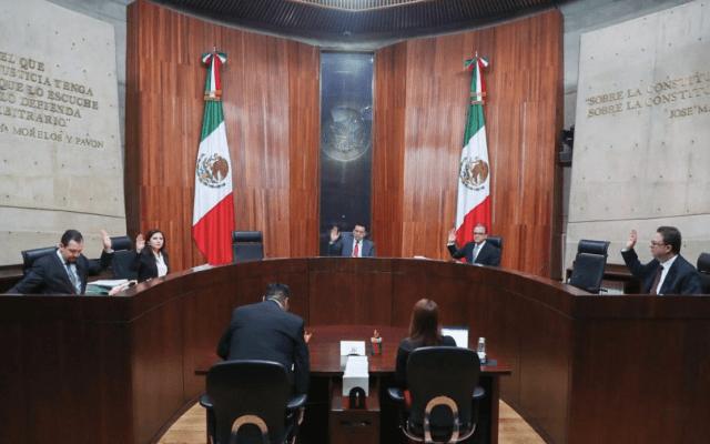 TEPJF ordena a Morena excluir de proceso interno a quienes fueron elegidos en 2012 y 2015 - Foto de @TEPJF_informa