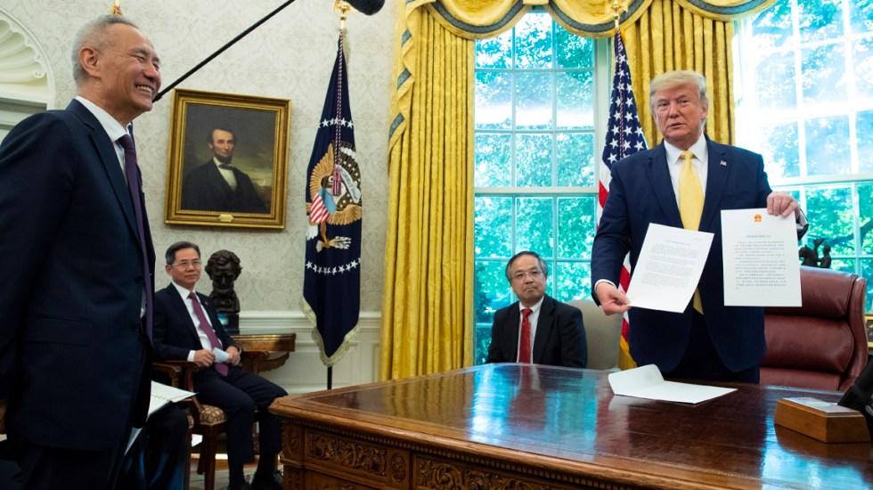 Trump anuncia acuerdo para dar tregua a guerra comercial con China - Trump firma acuerdo de tregua con China