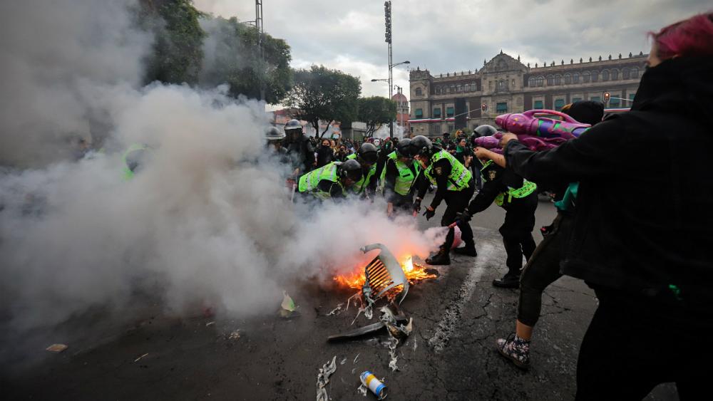 Habrá detenciones en caso de violencia en marcha del 2 de octubre: Jesús Orta - Foto de Notimex