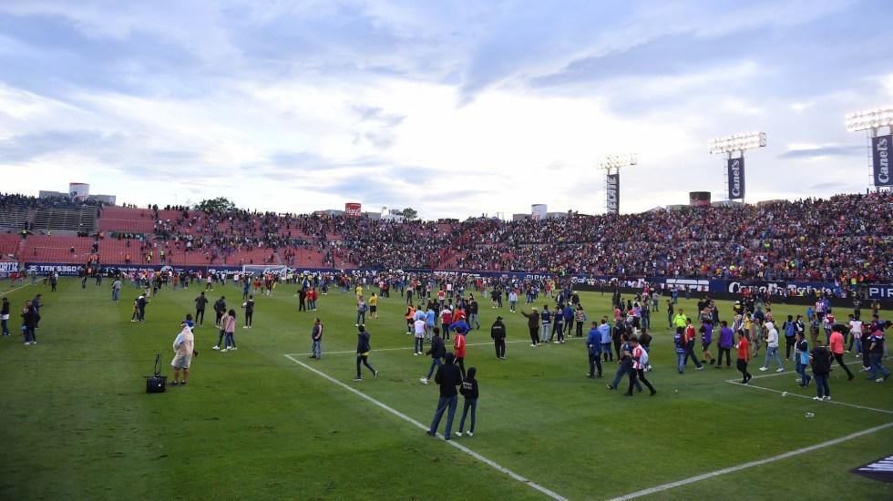 FMF abre investigación por violencia en San Luis vs. Querétaro - Foto de Mexsport.