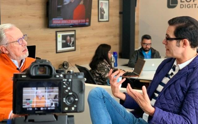 Del teatro, a la irreverencia y aceptación: López-Dóriga entrevista a Horacio Villalobos
