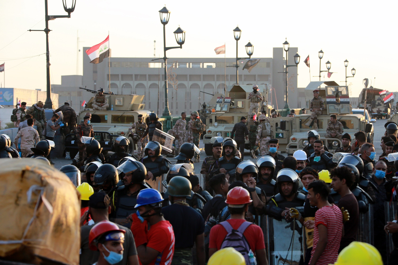 Violencia en las calles de Irak