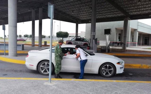 Despliegan a Guardia Nacional en carreteras por programa Bienvenido Paisano - Agentes del INM y elementos de la GN resguardan carreteras por el Programa Bienvenido Paisano. Foto de @programapaisano